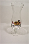 Click here to enlarge image and see more about item BA003: Hard Rock Cafe Hurricane San Antonio Stemware  Glass
