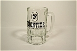Click here to enlarge image and see more about item BA016: Frontier Casino Crystal Beer Mug