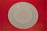 Anchor Hocking Daisy Pattern White/Milk Glass Plate