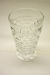 Whitehall  Pattern 12 Ounce Crystal Footed Tumbler
