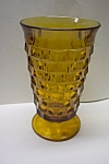 Whitehall Pattern 12 Ounce Amber Tumbler