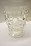 Whitehall Pattern 8 Ounce Crystal Tumbler