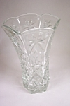 Anchor Hocking Early American Prescut Glass Vase