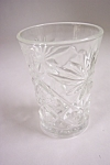 Early American Prescut Glass Juice Tumbler