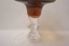Click to view larger image of Crystal And Amber Coctail/Wine Glass (Image2)