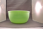 "Click to view larger image of Sunbeam Mixmaster 9"" Jade-ite Mixing Bowl (Image1)"