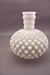 Click to view larger image of Fenton Opalescent & Hobnail Bulbous Bottle (Image1)