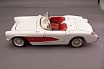 Click here to enlarge image and see more about item FAC00104: 1957 Diecast Chevrolet Corvette