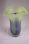 Click to view larger image of Murano Handblown Cased Art Glass Vase (Image1)