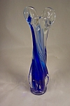 Murano Handblown Cased Art Glass Bud Vase