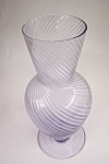 Handblown Light Purple Art Glass Vase
