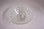 Daisy & Button Crystal Glass Bowl