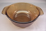 Click here to enlarge image and see more about item FAC00520: Anchor Hocking/Fire King 12 Ounce Amber Glass Casserole