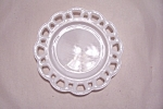 Click to view larger image of Milk Glass Lattice Plate (Image1)