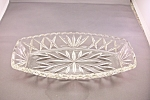 Anchor Hocking Crystal Glass Relish Dish