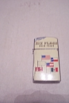 Click here to enlarge image and see more about item FAC00550: Six Flags Over Texas Pocket Lighter