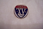 Click here to enlarge image and see more about item FAC00593: TMRA XV (15) Year Pin