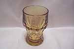 Click here to enlarge image and see more about item FAC00609: FireKing Amber Ice Tea Tumbler