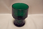 FireKing  Georgian Pattern Forest Green  Tumbler