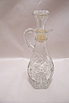 Anchor Hocking Early American Prescut Cruet #711