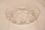 "EAPC 9"" Crystal Glass Oval Bowl #776"