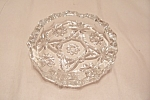 "EAPC 5-1/2"" Crystal Glass Ashtray"