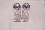 EAPC Pair Of Crystal Glass Shakers
