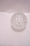 Click to view larger image of Indiana Crystal  Glass Whitehall  Small Lidded Dish (Image1)