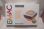 Click here to enlarge image and see more about item FAC00665: Macintosh EMAC MD2400 External Modem
