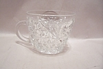 Prescut Pineapple Crystal Glass Punch Or Snack Cup