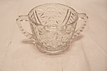 Prescut Pineapple Small Crystal Glass Sugar Bowl