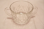 Prescut Pineapple Crystal Glass Large Sugar Bowl