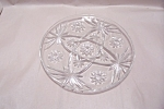 "EAPC 10"" Crystal Glass Snack Plate"
