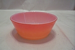 FireKing Orange Davy Crockett Style Glass Bowl