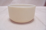Click here to enlarge image and see more about item FAC00691: FireKing/Anchor Hocking  Beige Chili Bowl