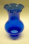 Click here to enlarge image and see more about item GCG0005: Cobalt Blue Glass Miniature Lamp Globe