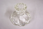 Click to view larger image of Crystal Glass Candle Holder (Image1)