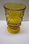 Whitehall Pattern 6 Ounce Amber Tumbler