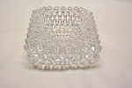 Click to view larger image of FENTON Hobnail Crystal Glass Salter (Image1)
