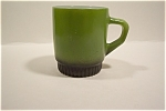 Avocado Green Fire-King Mug