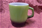 FIREKING Avocado Green Mug With Black Base