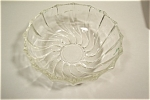 "Click to view larger image of Crystal Shell Pattern Fire King 5"" Dessert Bowl (Image1)"