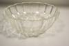 "Click to view larger image of Crystal Shell Pattern Fire King 5"" Dessert Bowl (Image3)"