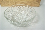 Fire King Crystal Dessert Bowl