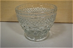 Anchor Hocking Wexford Pattern Crystal Sugar W/O Lid