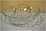 Click here to enlarge image and see more about item GFK118: Anchor Hocking Bubble Large Crystal Berry Bowl