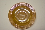 FireKing Three Bands Peach Lustre Saucer