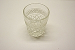 Anchor Hocking Wexford Pattern Crystal GlassTumbler
