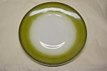 """Click here to enlarge image and see more about item GFK158: FIRE-KING Avacado 7"""" Plate"""