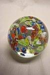 Abstract  & Controlled Bubble Paperweight